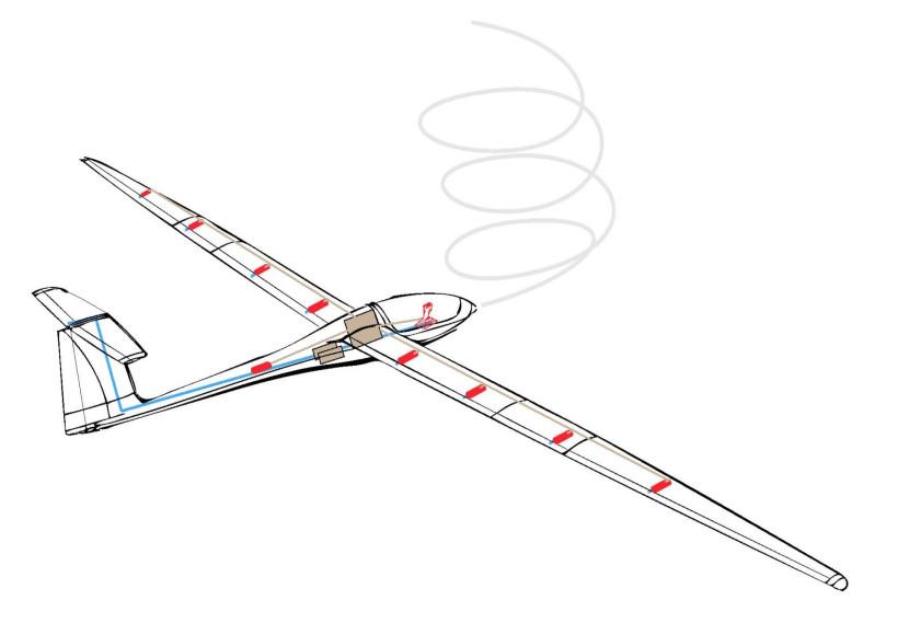 AVX-fs36-glider-flybywire-akaflieg-stuttgart-technical-drawing